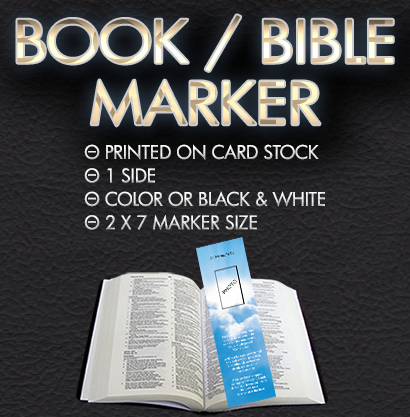 Book / Bible Marker