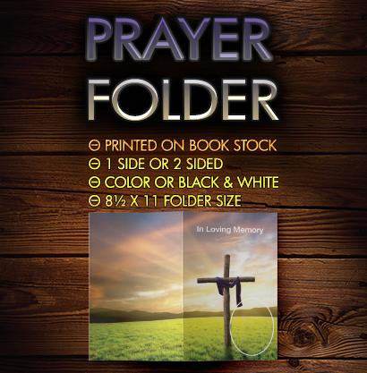 Prayer Folder