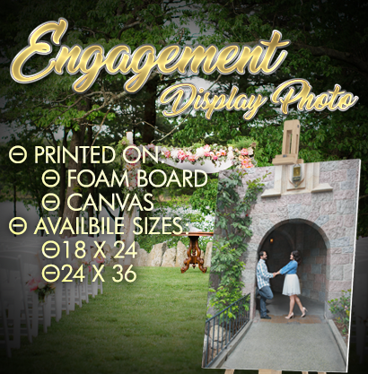 Engagement Display Photo